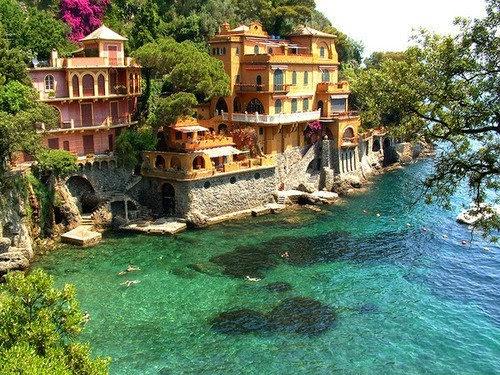 Ocean Front Homes,Portofino, Italy lucianine