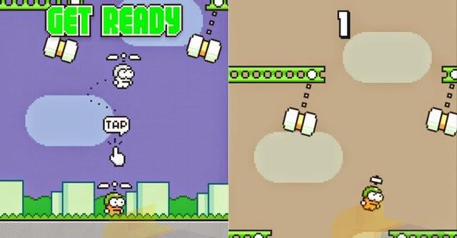 Hà Đông sẽ phát hành game Copters Swing