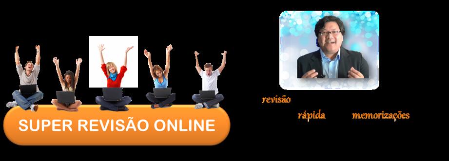 R$ 40,00 Super Revisão Online TJ SP com Professor Kanashiro