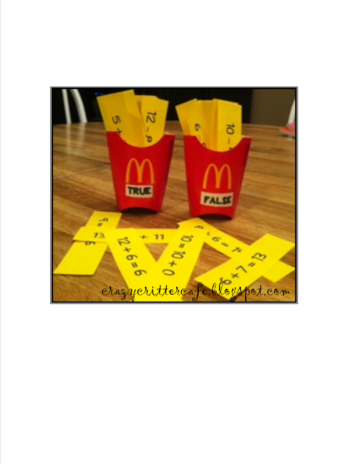 http://crazycrittercafe.blogspot.com/2014/03/math-fact-fries-and-freebies.html