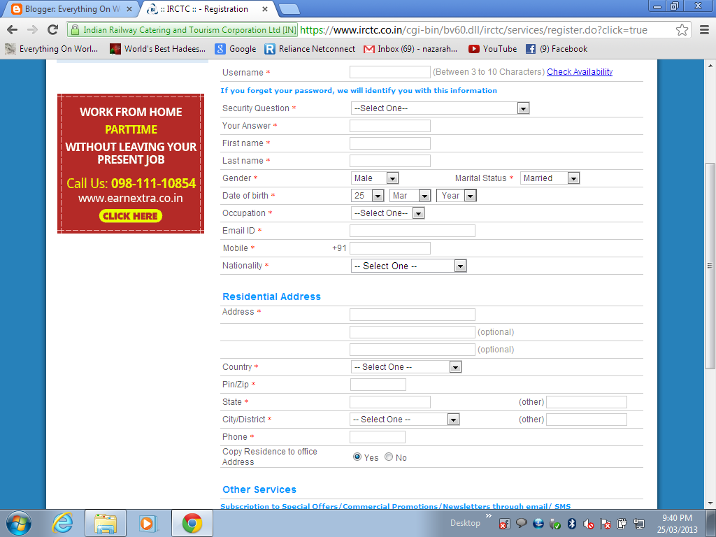 How To Book Online Railway E Tickets I Tickets On Irctc