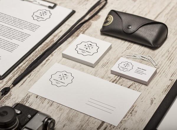 Les Ressources Web du Lundi by Iscomigoo Webdesign: Pack d'identité de marque #03