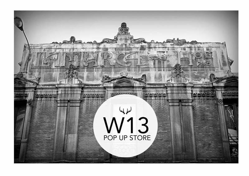 Madrid in Love, pop up store, Winter 2013, vintage industrial