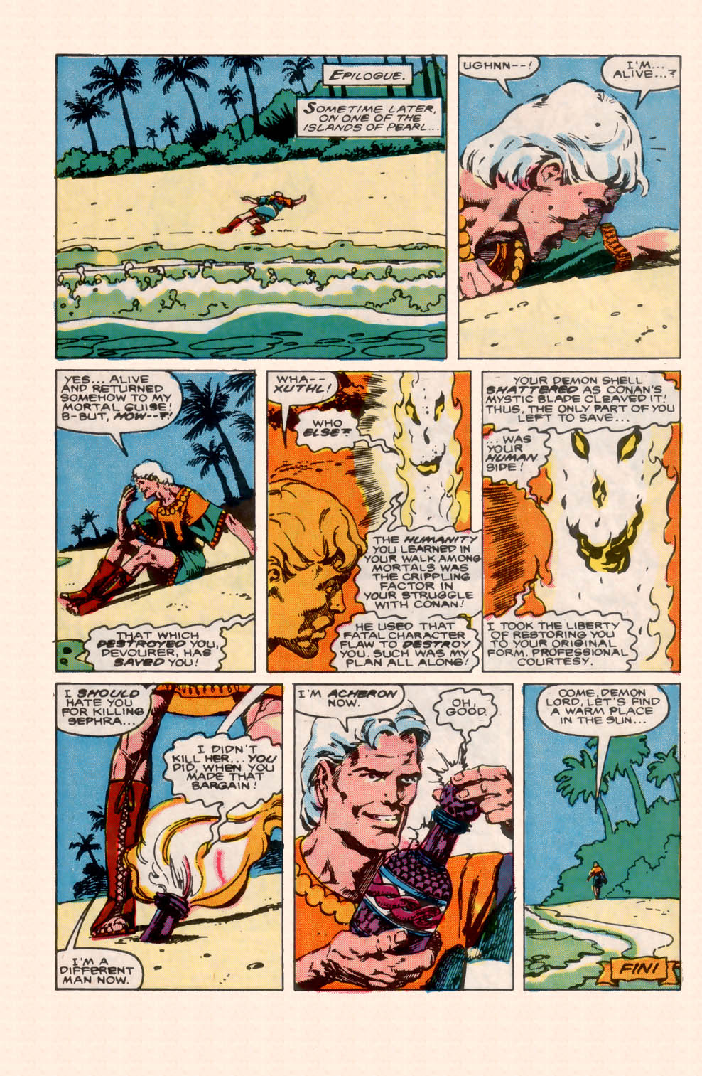 Conan the Barbarian (1970) Issue #200 #212 - English 40