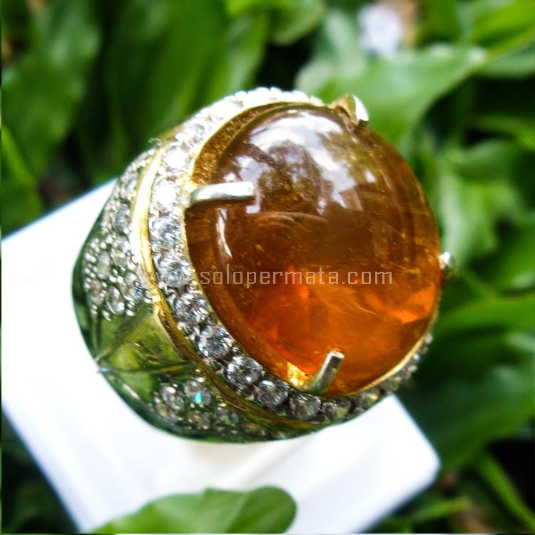 Cincin Batu Permata Fire Opal - SP562
