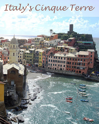 Travel the World: A guide to exploring the five lands of Italy%27s Cinque Terre, a UNESCO World Heritage Site along the Italian Riviera.