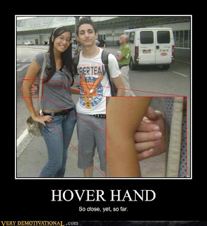 hover hand asian chick