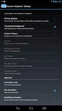Dynamic Keyboard - Pro android apk - Screenshoot