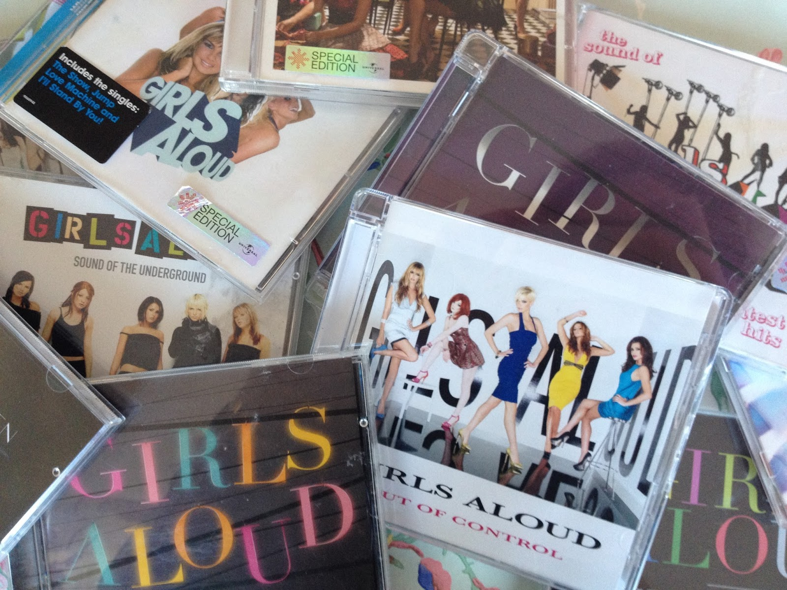 Guide of Girls Aloud Albums