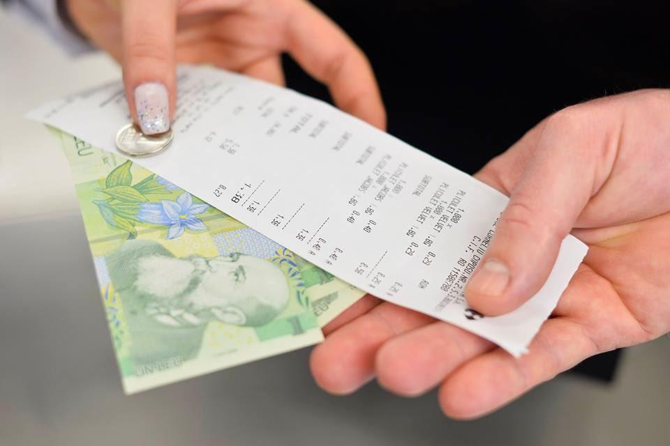 Románia, nyugtalottó, nyereményjáték, pénztári nyugta,