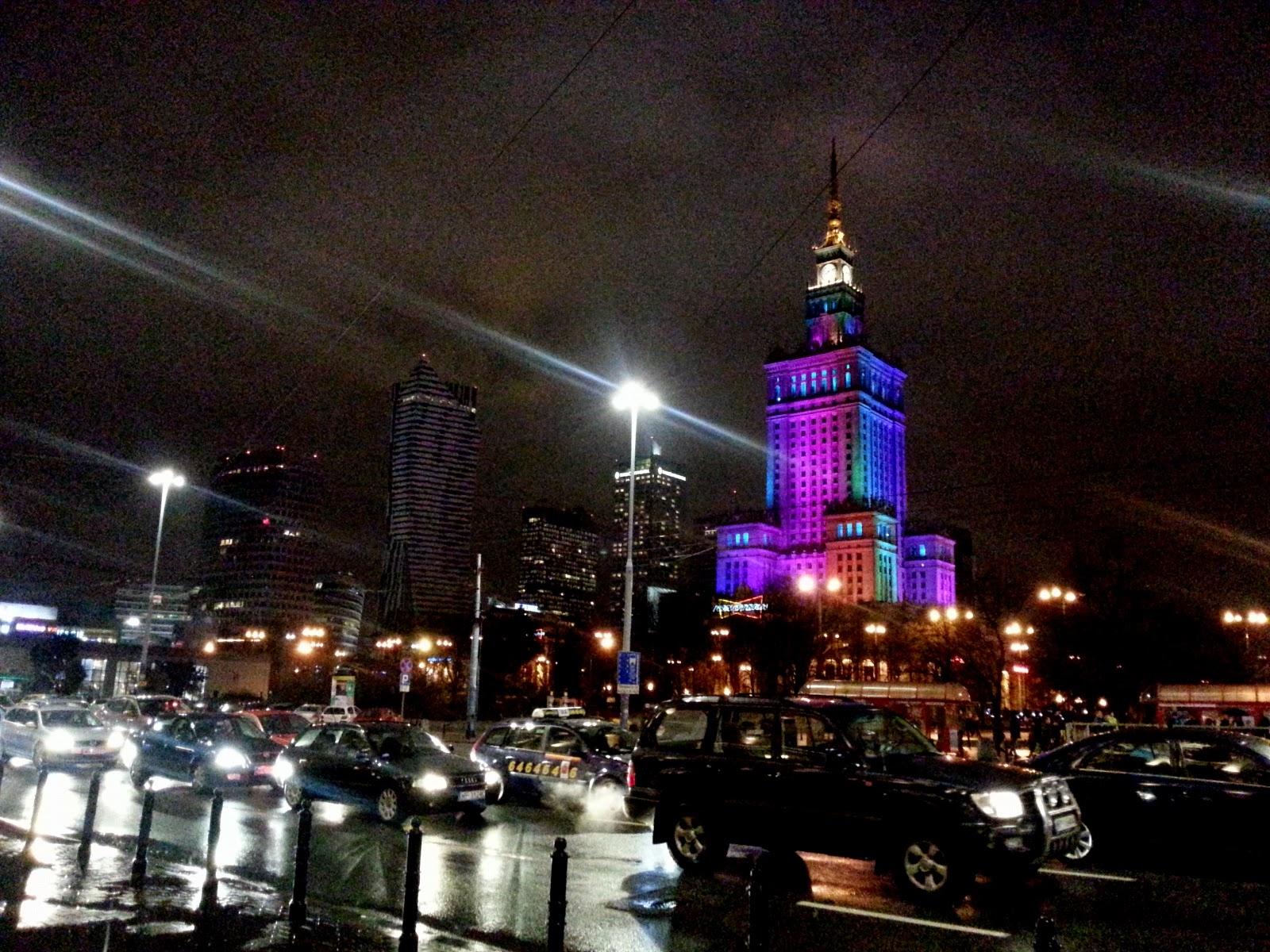 Warszawa, Pałac Kultury