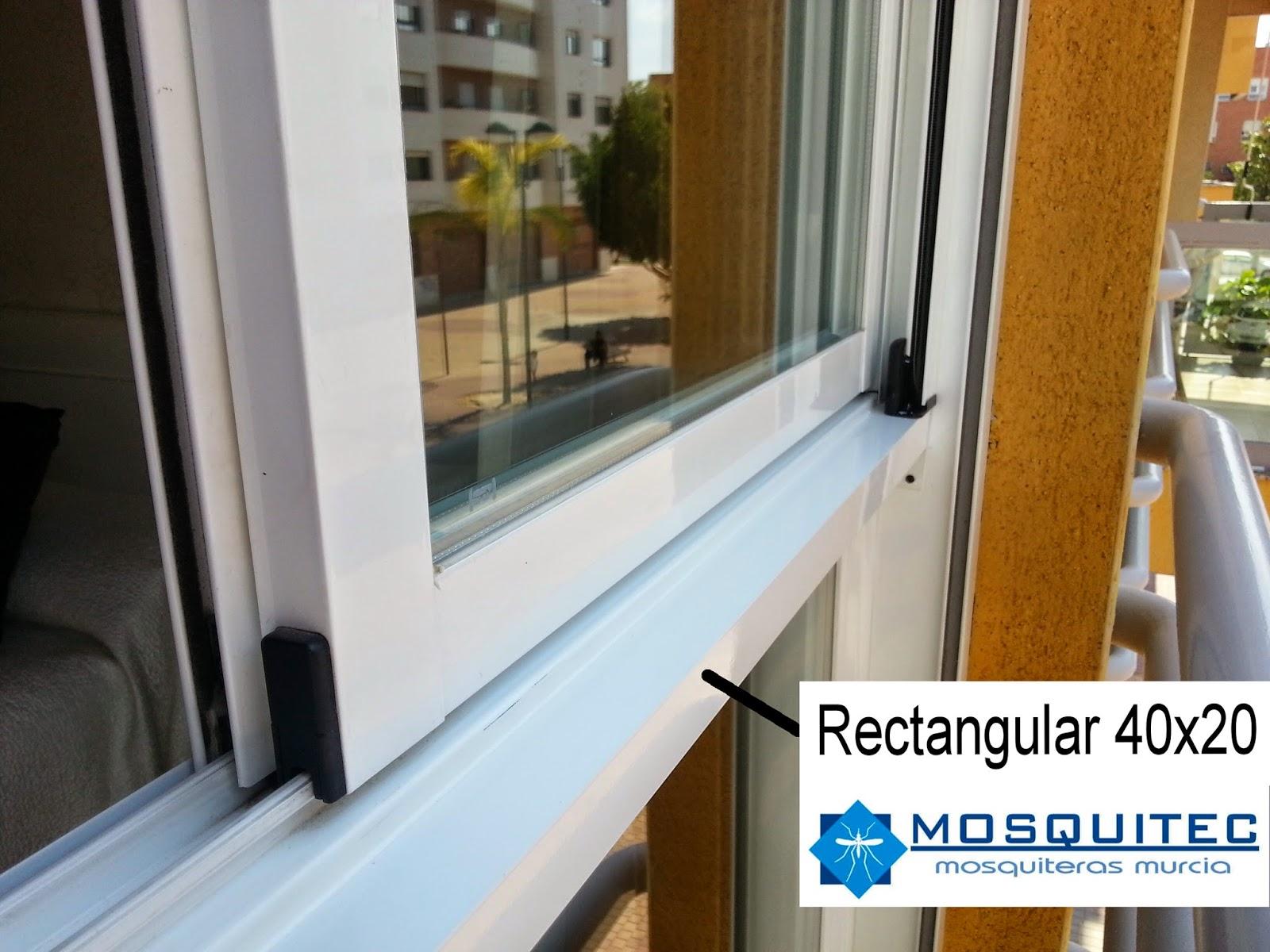Mosquitera enrollable en ventanas con fijo mosquiteras - Como poner puerta corredera ...