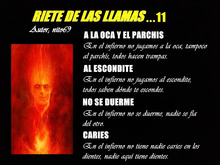 RIETE DE LAS LLAMAS...11