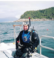 Nelson In Full Scuba Gear