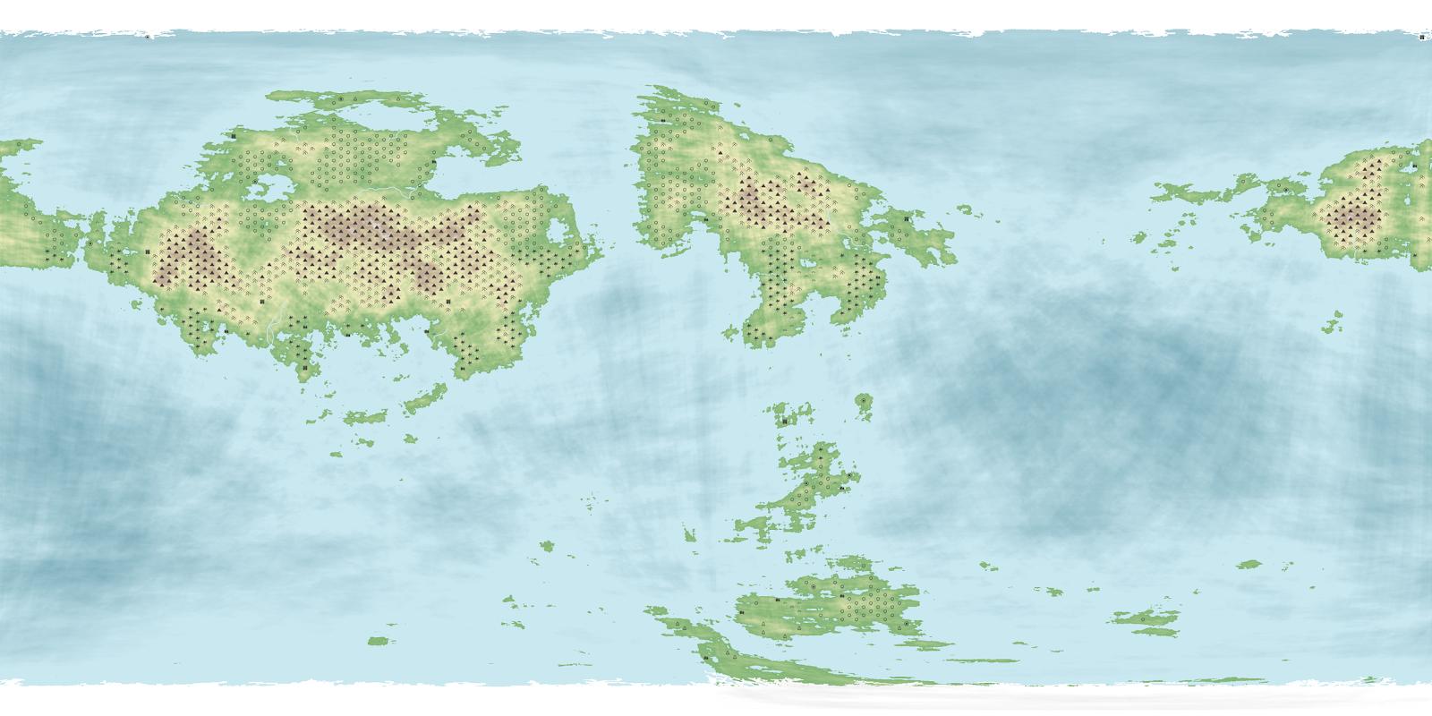 World map 1 online fantasy short story collection from eblion source fantasy world creator httpdonjonnfantasyworld gumiabroncs Images