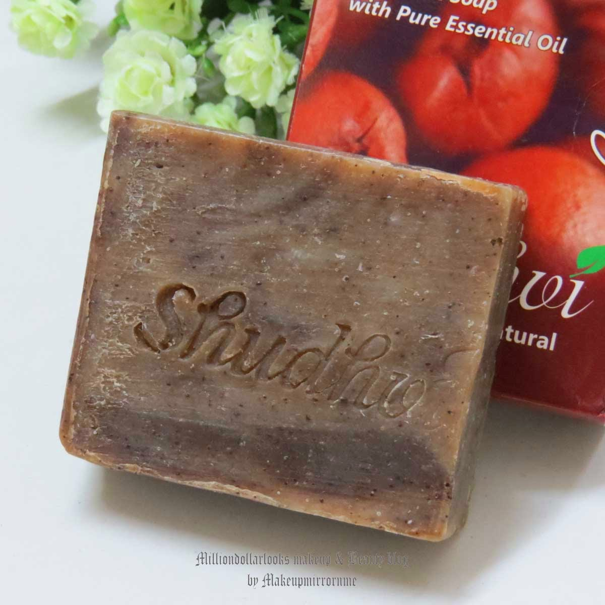 Shudhvi Naturals Coffee Cinnamon Cream Handmade Soap Review & Pictures, Shudhvi handmade soaps review, Handmade soaps in India, Coffee detox handmade soap review, Shudhvi naturals review, Indian beauty blog, Indian makeup and beauty blog, Indian beauty bloggers, Bath products, skin detoxification, Cinnamon soap