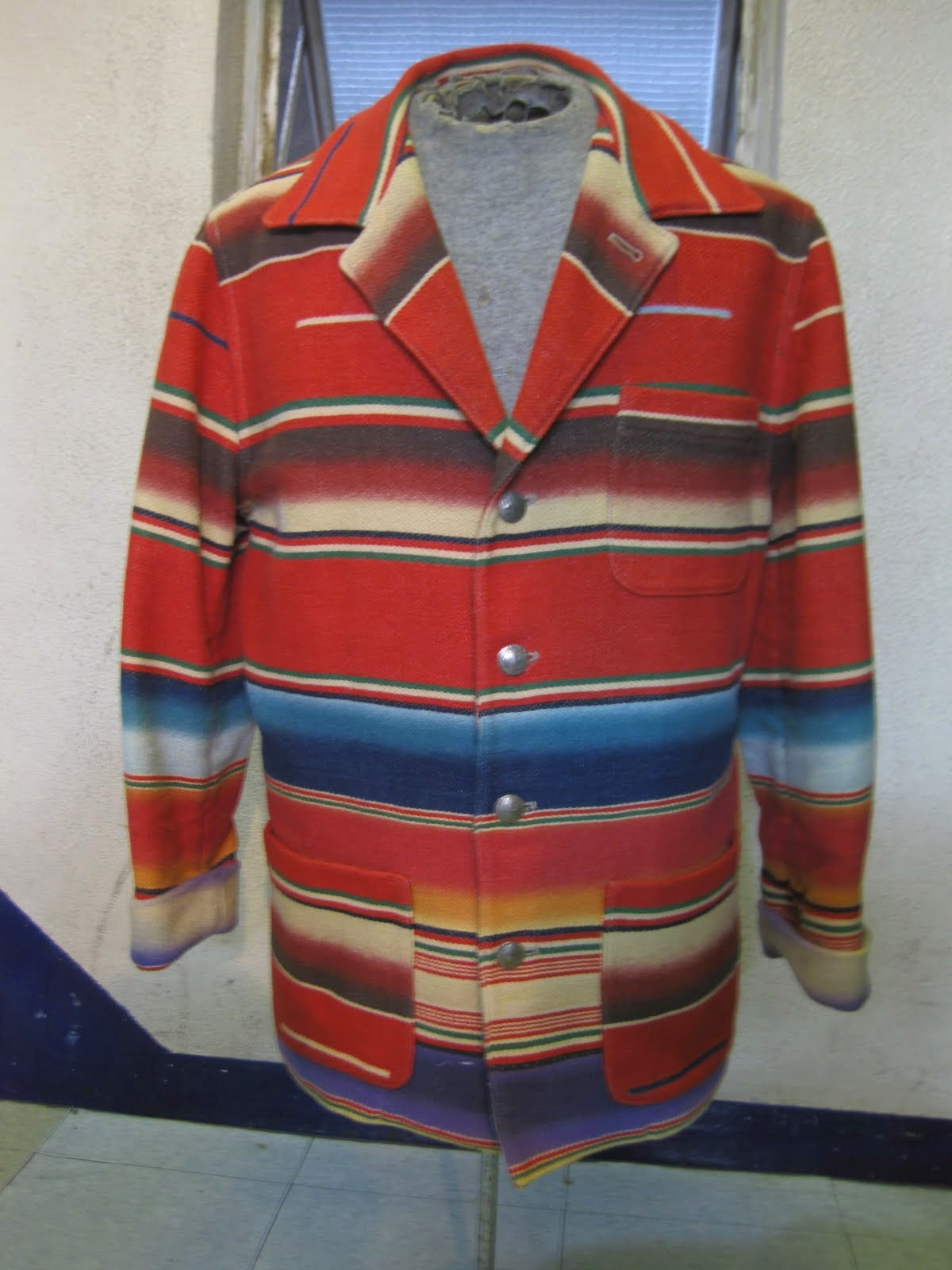 「POLO COUNTRY」             NATIVE柄                COTTON ブランケット               JACKET