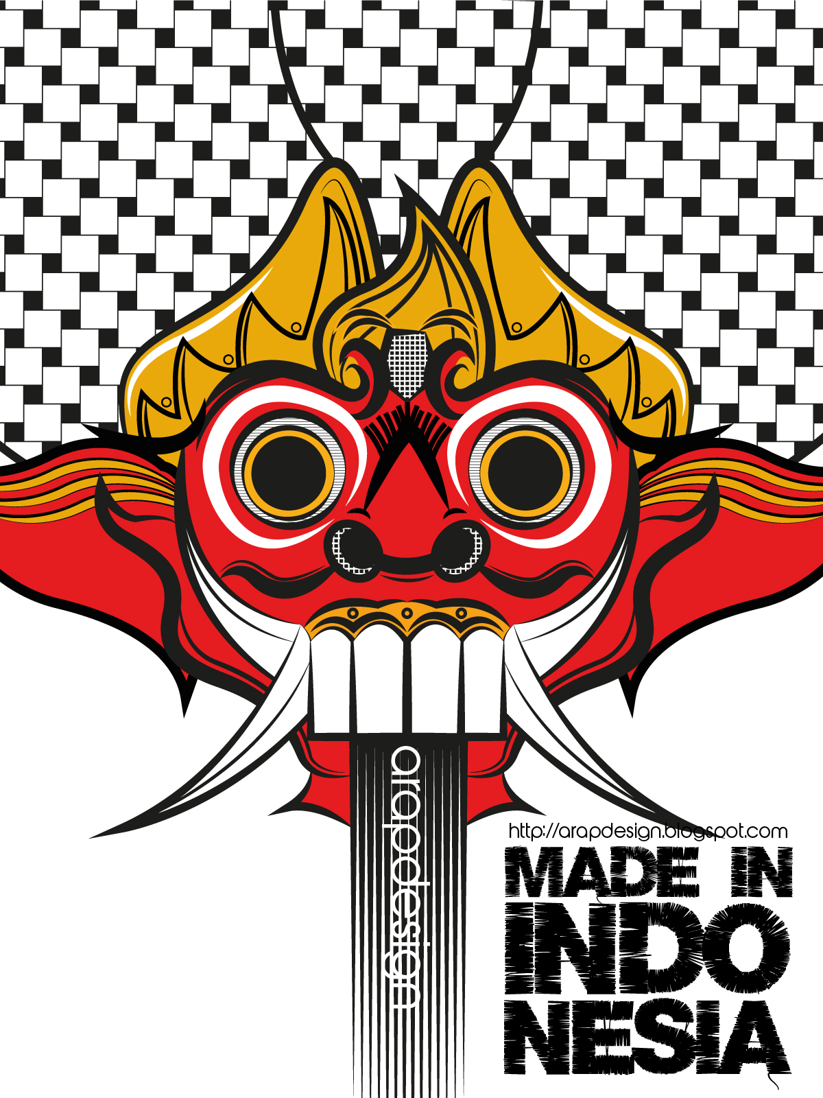 Arapdsgn Mask Of Barong Made In Indonesia