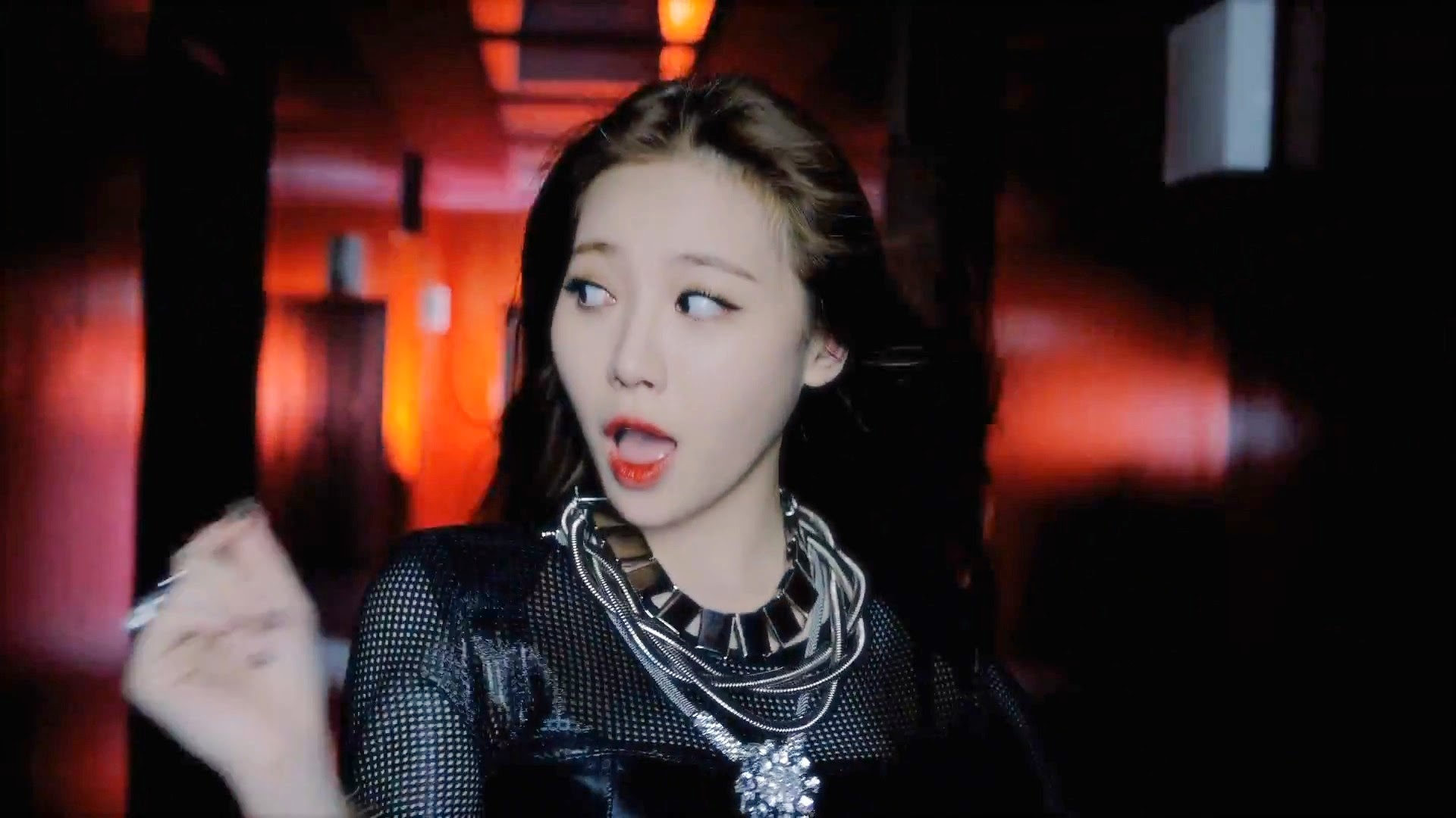 Girl's Day Yura in Hello Bubble MV