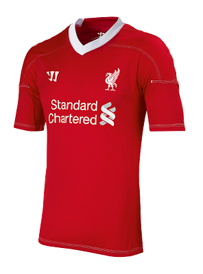 home kit Liverpool 2012/2013