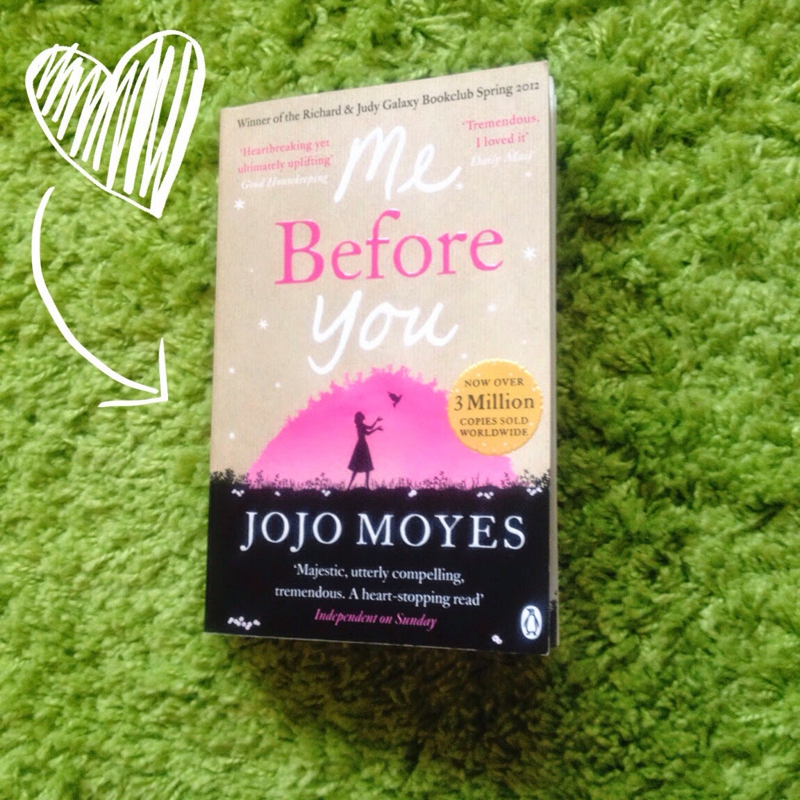 Inspire Magazine Online - UK Fashion, Beauty & Lifestyle Blog; Book Review // Me Before You By JoJo Moyes; Inspire Magazine Online; Me Before You; Me Before You book; JoJo Moyes