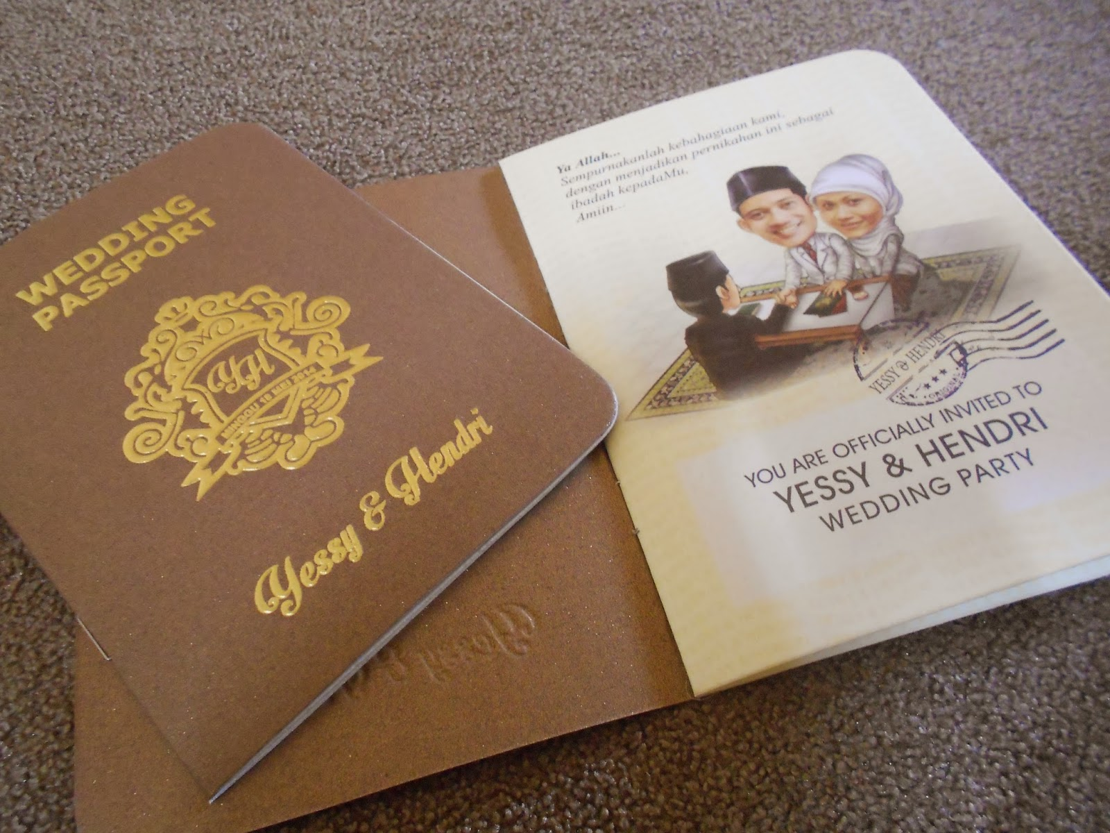 Wedding Passport (enha-sc075 )