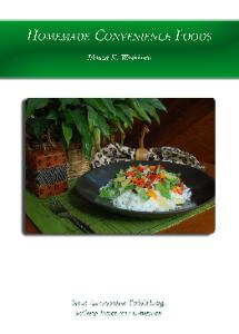 Homemade Convenience Foods ebook