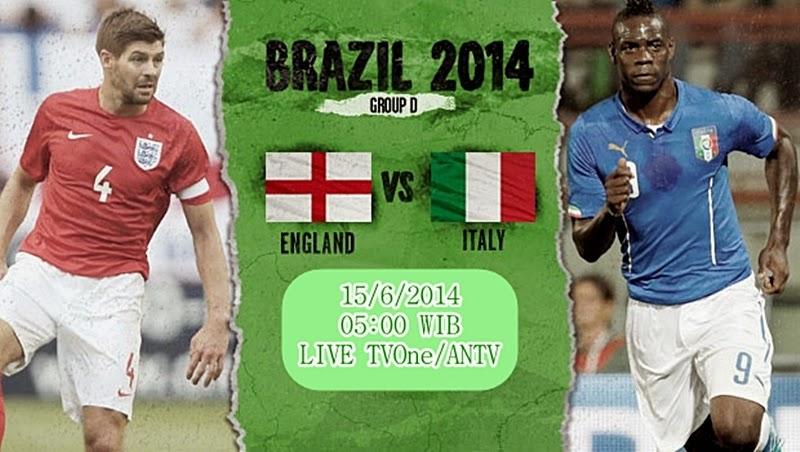 Prediksi Pertandingan Inggris vs Italia