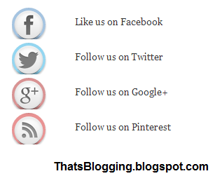 Cute Social Sharing Widget For Blogger