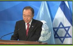 El texto entregado a la ONU establece la retirada israelí de los territorios ocupados en 2017