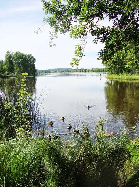 Promenadvägen runt sjön