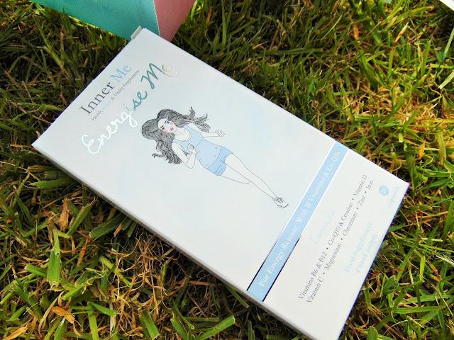 Birchbox Royally good April edition InnerMe energize me