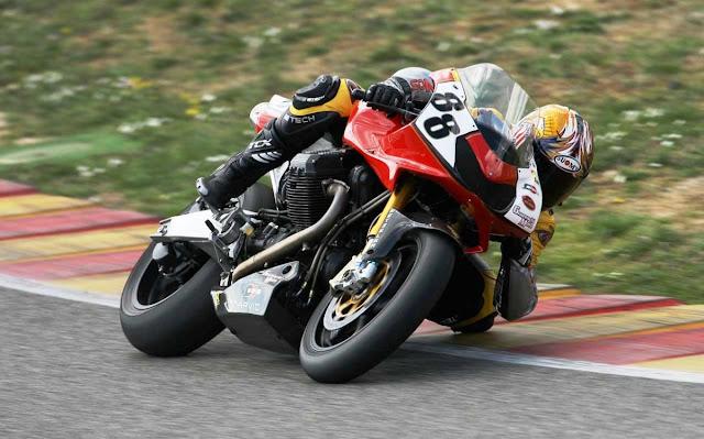 Moto Guzzi MGS-01 Corsa Motorcycle Racing Guareschi