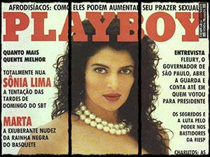 sonia lima pelada revista playboy