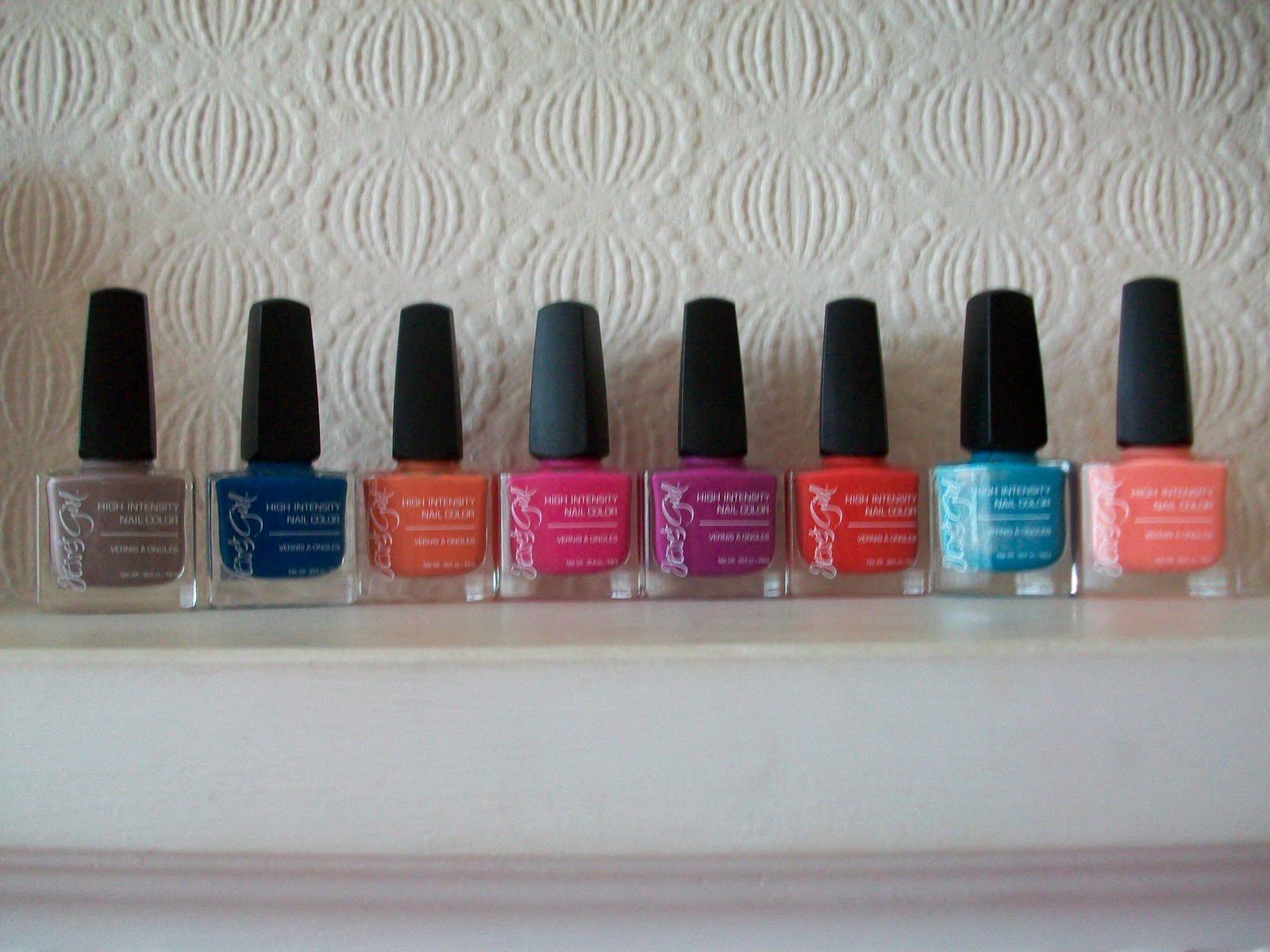 Maz Makeup: Jesse\'s Girl Julie G Nail Polish Collection Swatches ...