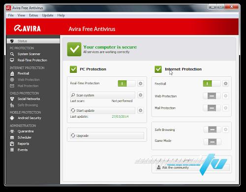 Avira Free Antivirus 14