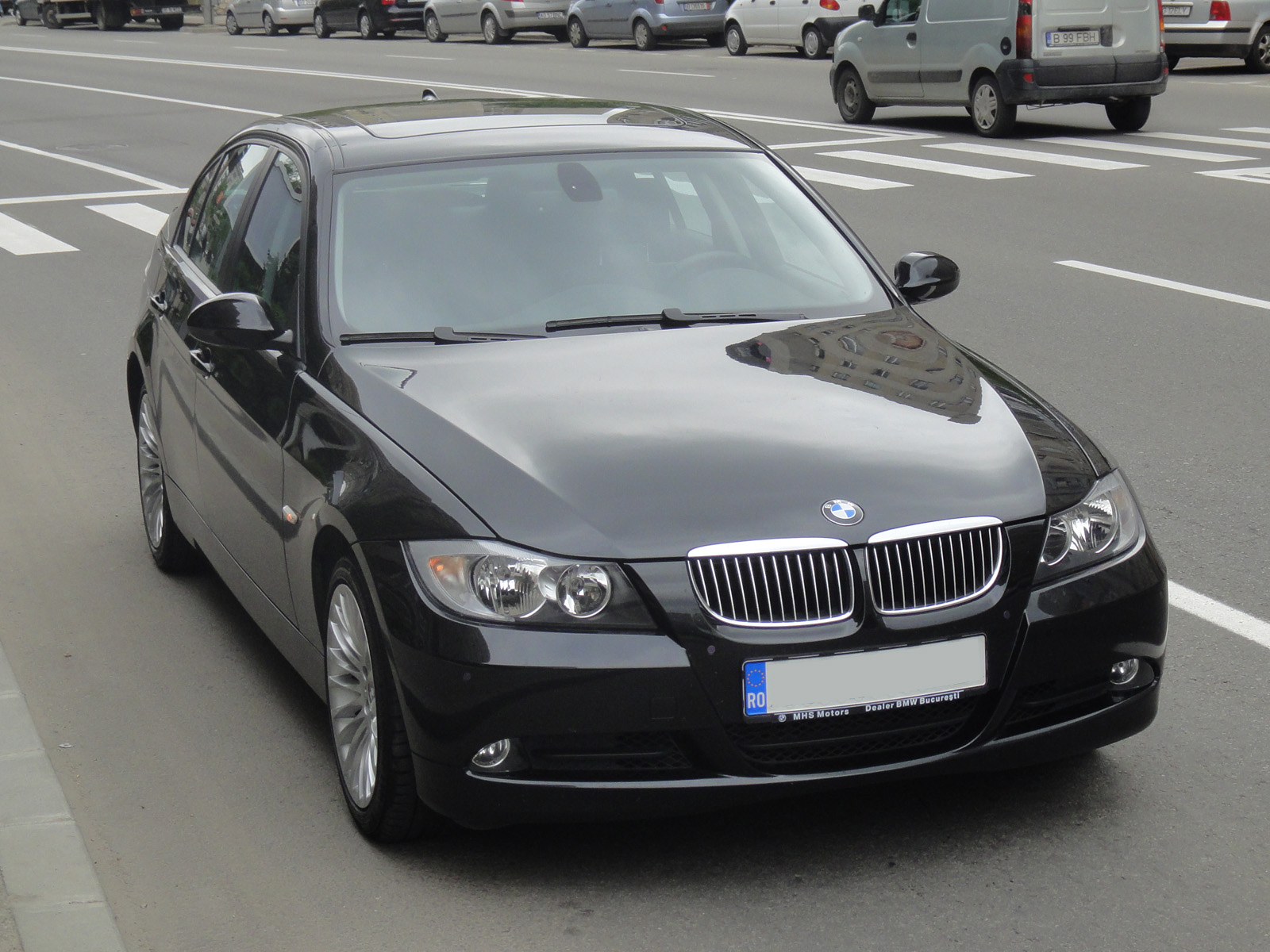 Jurnal de bord bmw 320d e90 for Chrome line exterieur bmw