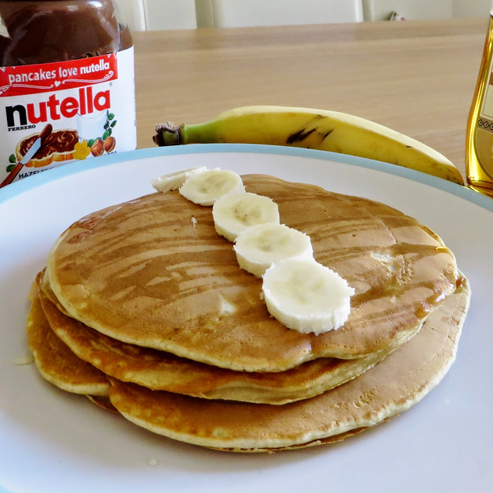 Erins Ever After, Pancakes, Shrove Tuesday, Nutella, Banana, Cooked Breakfast