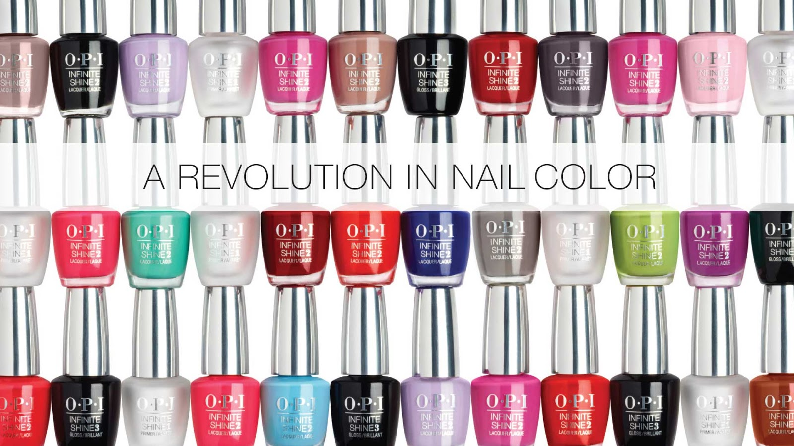 My sweet valentine: A revolution in nail colour: OPI INFINITE SHINE
