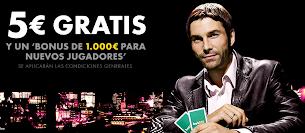 5€ gratis para el poker en Bet365