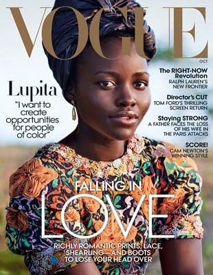Lupita On Vogue