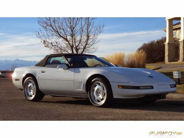 1995 Corvette Convertible at Purifoy Chevrolet
