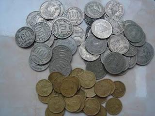jenis uang logam