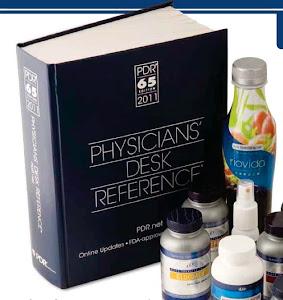 Terdaftar dalam PDR (Buku rujukan Doktor)