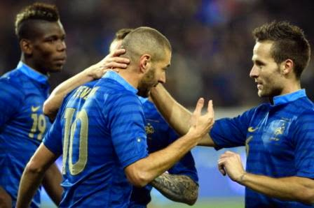 Prancis vs Jamaika