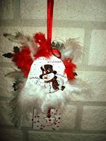 Achterkant kerstornament