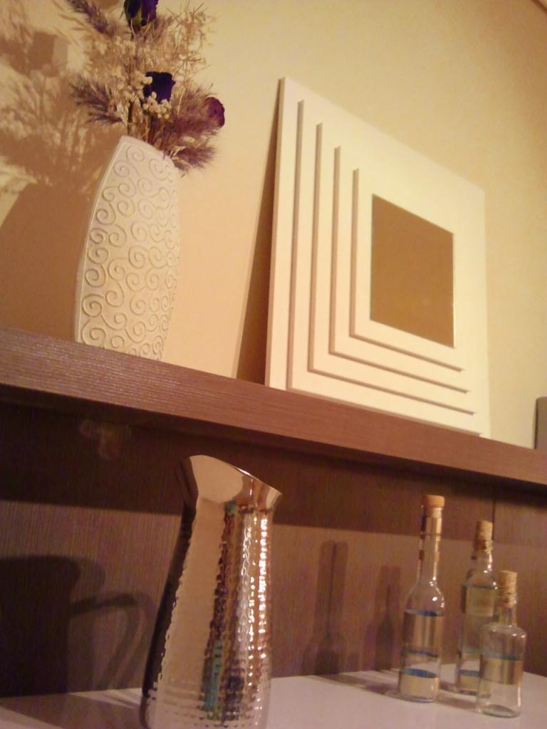 Diy el espejo de tableros de ana paperblog for Espejo adhesivo ikea