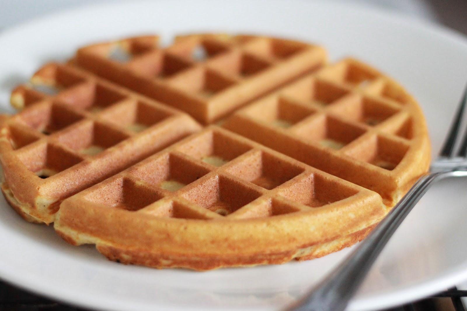 i wrestled a cupcake once: Whole Wheat Waffles