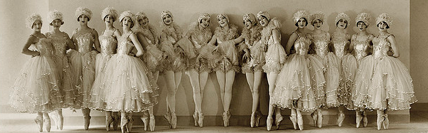 vintage dance rash girls