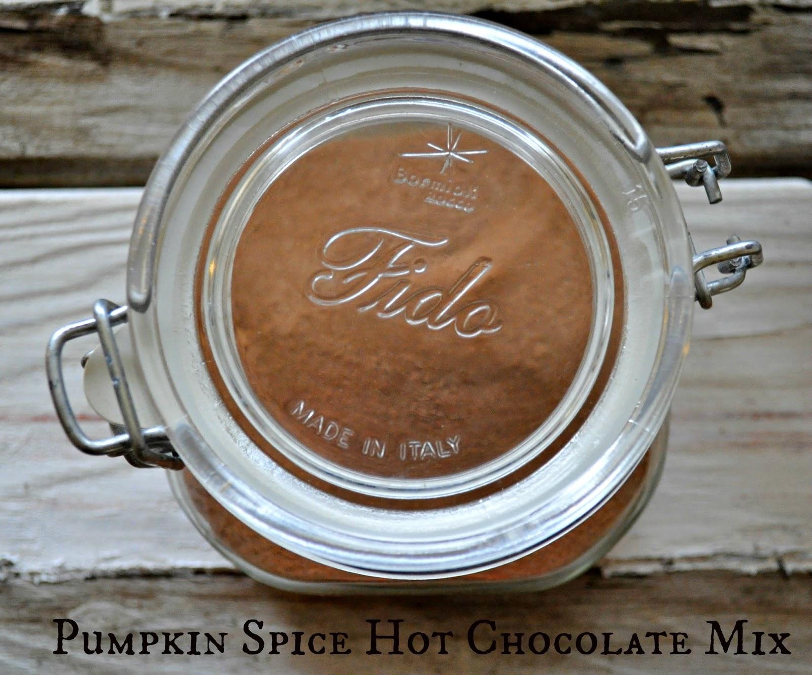 Pumpkin Spice Hot Chocolate Mix for #Choctoberfest   Little House ...